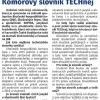 Článek ve Zpravodaji Jihočeské hospodářské komory