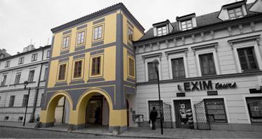 Sídlo jazykové školy SOPHIA v Hroznové ulici